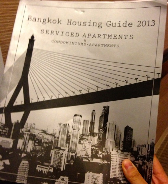 Bangkok Housing Guide 2013 の表紙